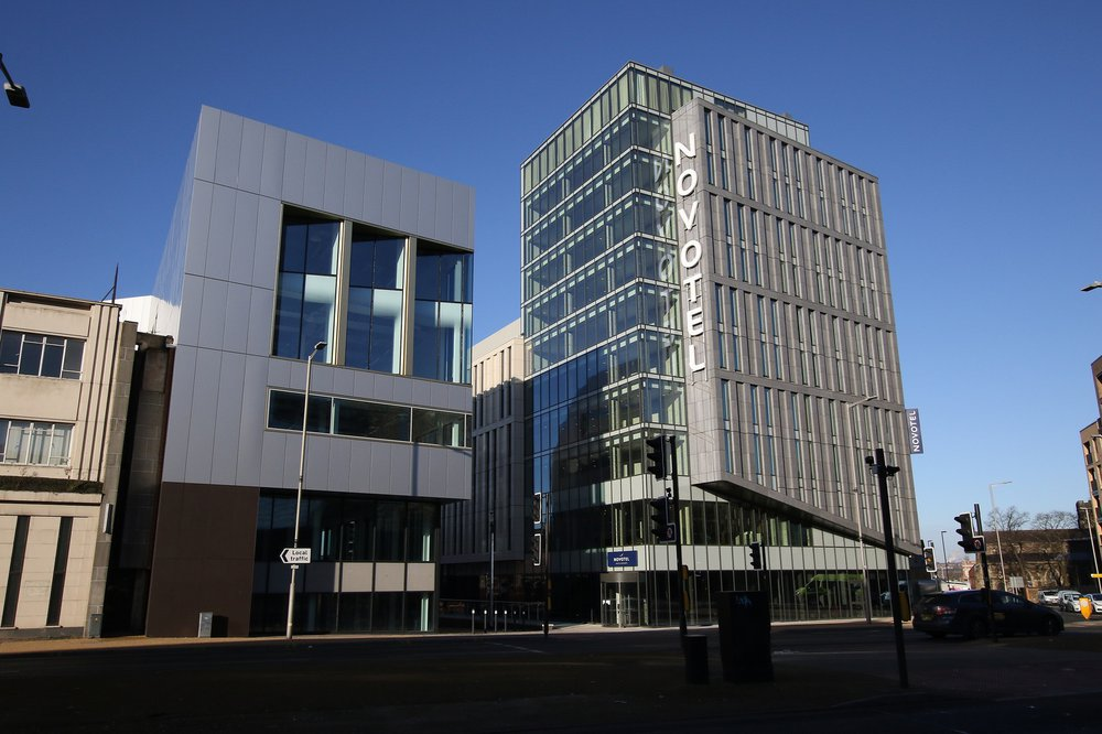 Exterior of Great Central Square, Leicester (Project Medius)