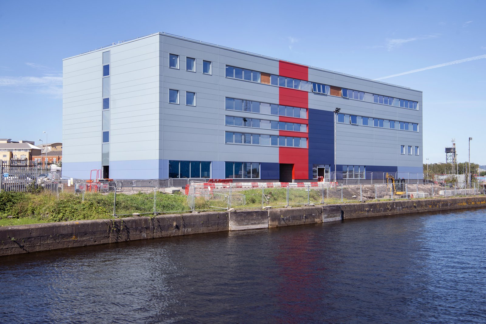 Image of the completed HMS Cambria building which Morgan Sindall Construction built
