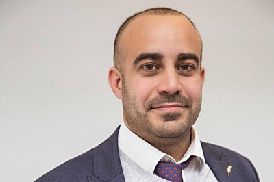 Picture of Alex Cuccurullo, site manager at Morgan Sindall Construction