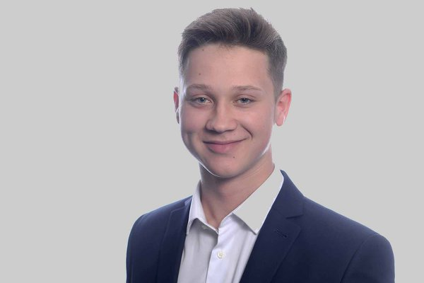 Alex Lockey, trainee site manager at Morgan Sindall Construction