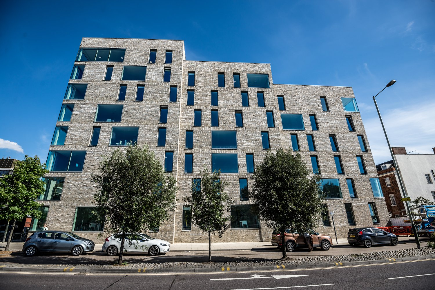Picture of the whole building - All Saints Green student accommodation in Norwich for Norwich University of the Arts