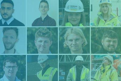 Morgan Sindall Construction apprentices