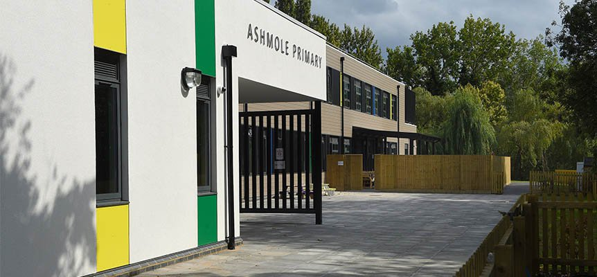 Image of the completed Ashmole School which was built by Morgan Sindall Construction