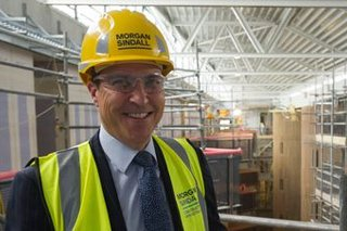 Picture of Bob Ensch, Business Development Director for Morgan Sindall Construction in the East