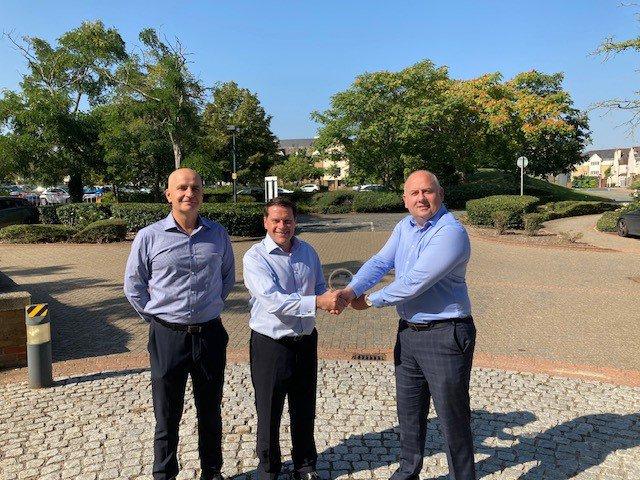Bower Fuller Team accepting their supply chain award