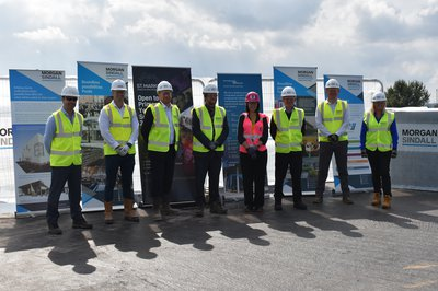 St Mark's School Topping Out