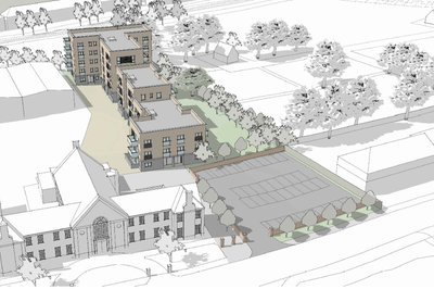 Design for the Victoria Road Residential development in Portslade
