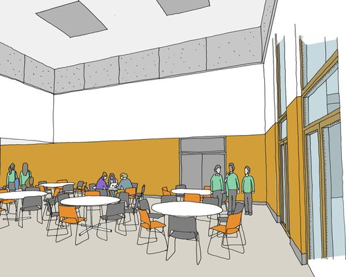 Proposed design for Salmon's Brook School