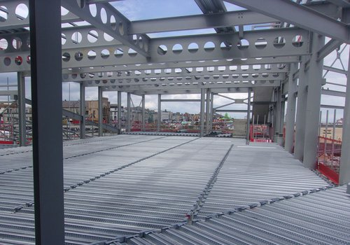 Progress of the Great Yarmouth Marina Centre project as of June 2021