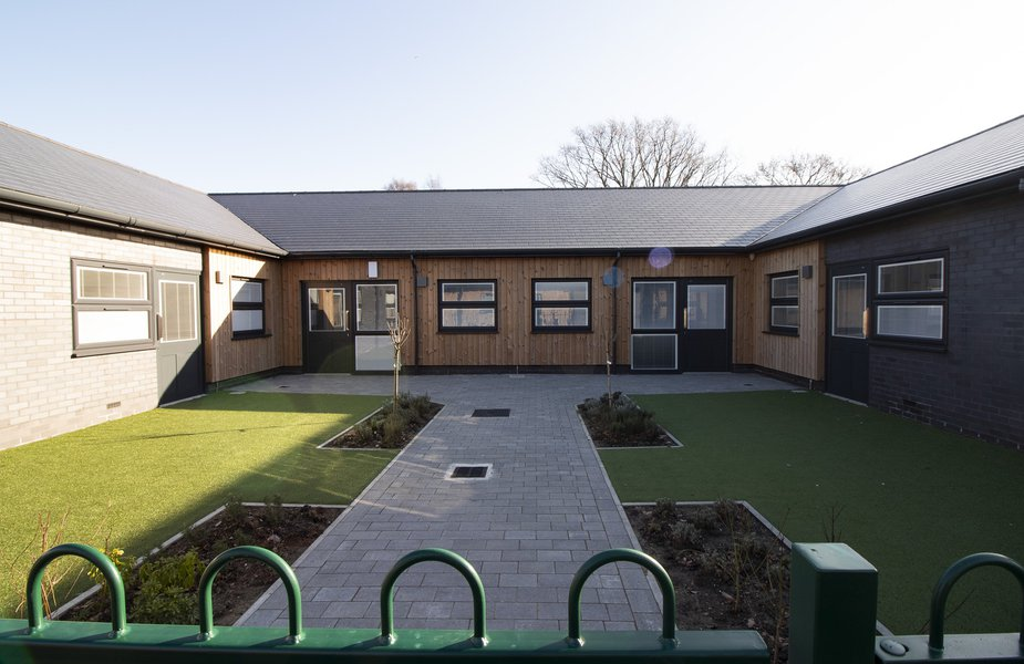 The outside of the Glenwood School student accommodation facilities