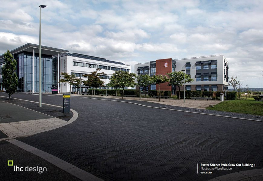 Proposed design for the Exeter Science Park