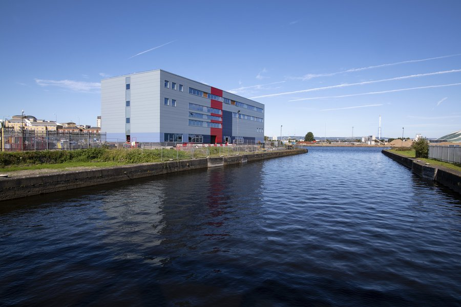 Picture of HMS Cambria building