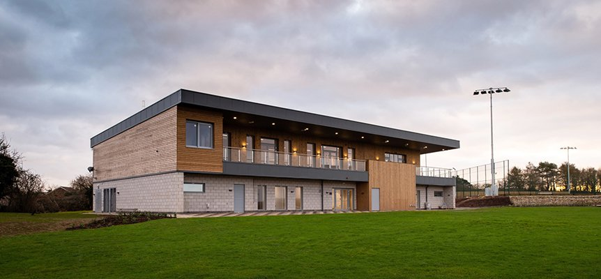 Image of Hitchin Cricket Club, built by Morgan Sindall Construction