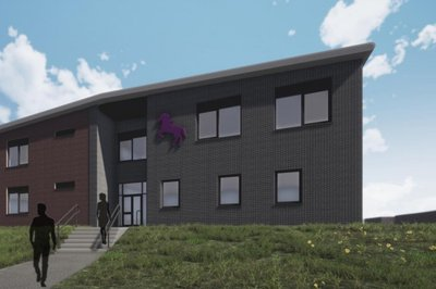 image of the proposed Horsforth School to be built by Morgan Sindall Construction