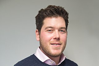 Pictures of James Wood, project manager for Morgan Sindall Construction, Northern Home Counties
