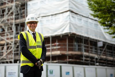 Picture of Jamie Shearman, area director for Morgan Sindall Construction in Cambridge