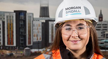 Picture of Katie Klaveness, a graduate at Morgan Sindall Construction in the North West