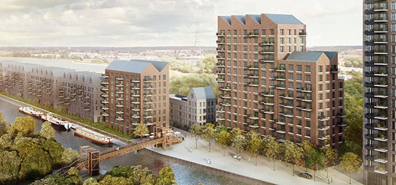 Image of one of the proposed London residential developments