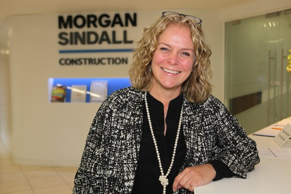 Picture of Louise Townsend, head of social value for Morgan Sindall Construction