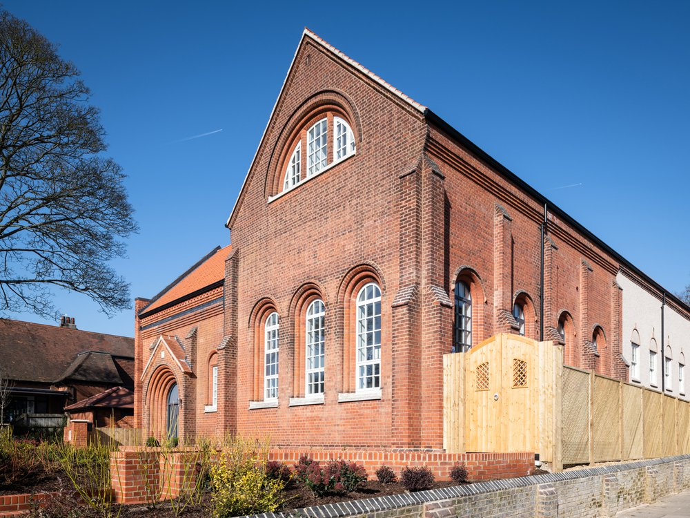 Image of the regenerated Museum of St Albans building, which was turned into a residential development