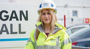 Image of Megan Macdonald, graduate technician at Morgan Sindall Construction