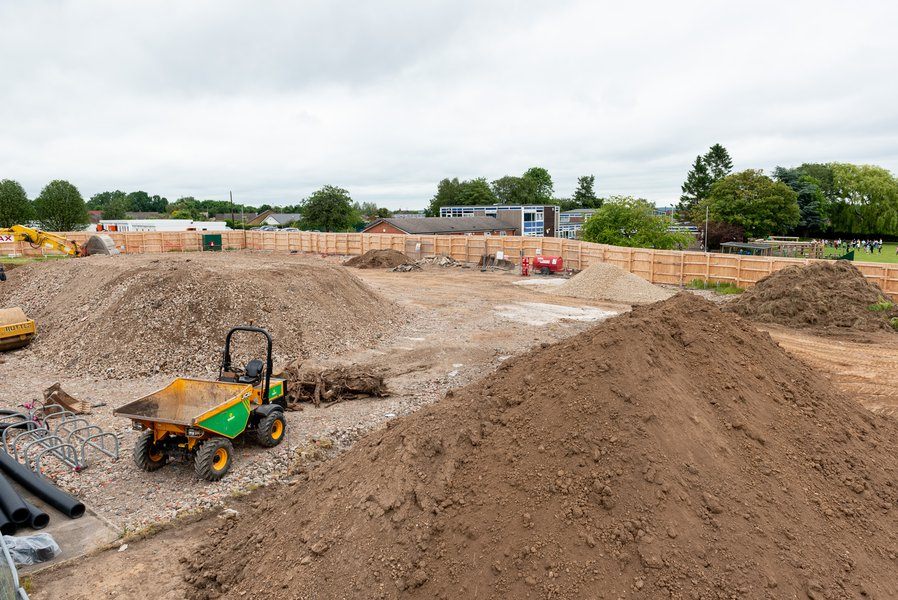 Site at Ravensdale School in Derby