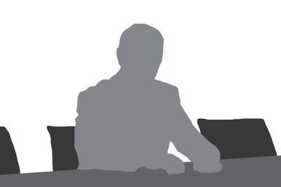 Grey and white graphic of a person - awaiting image for team member bio
