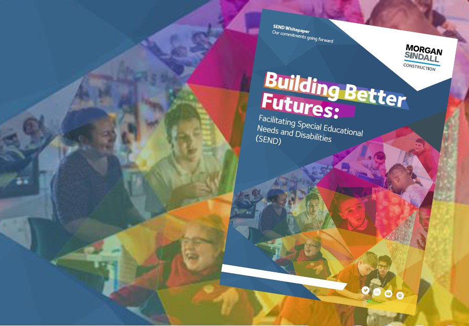 Front cover of the SEND Building Better Futures report, written by Morgan Sindall Construction