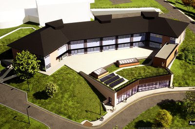 Proposed design for the South West Institute of Technology building