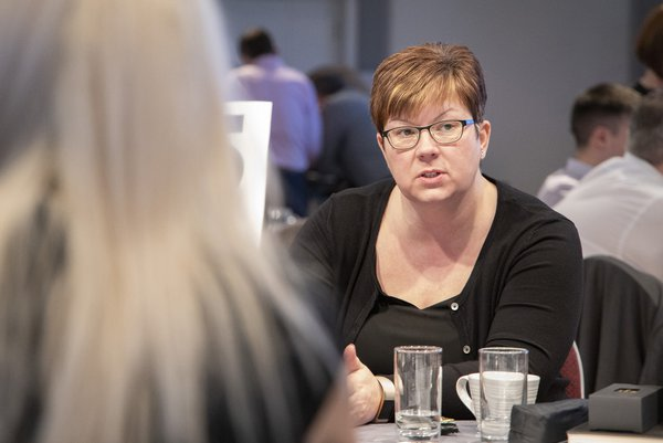 Picture of Sarah Boyd, head of HR at Morgan Sindall Construction