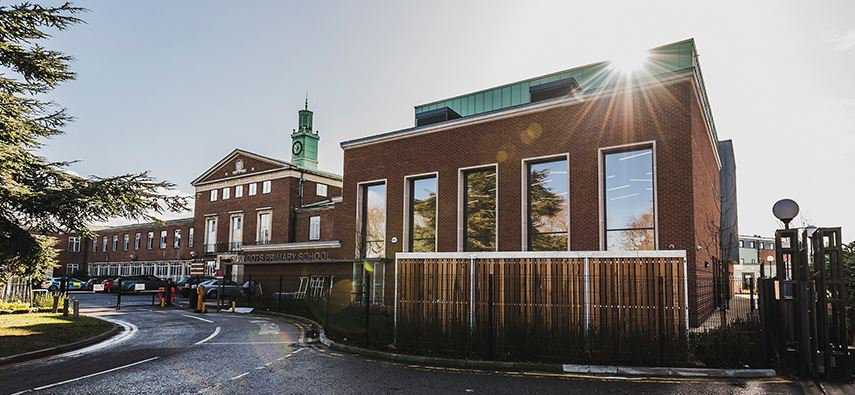 Image of St Mary's Church of England primary school in Slough