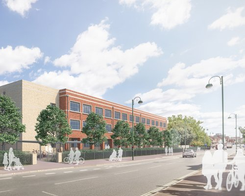 Image of the proposed St Mark's School to be built by Morgan Sindall Construction
