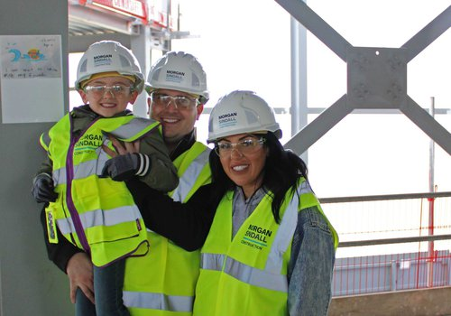 Steel signing event at the Great Yarmouth Marina Centre