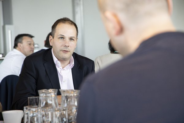 Picture of Steffan Speer, Business Improvement Director for Morgan Sindall Construction