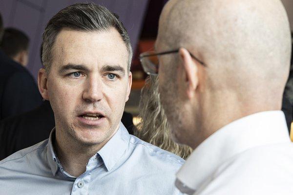 Image of Stuart Parker, managing director for Morgan Sindall Construction in Scotland