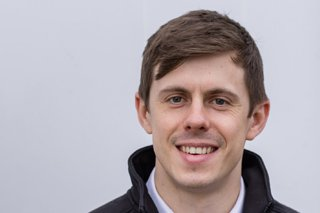 Picture of Tom Floyd, quantity surveyor for Morgan Sindall Construction