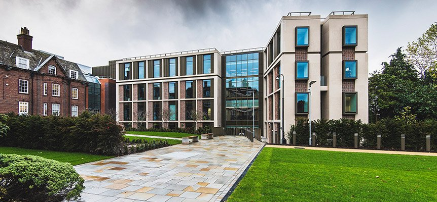 Image of the University House extension for University of Birmingham