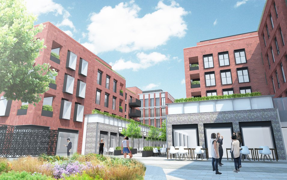 Image of the proposed CCOS development in St Albans