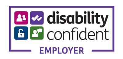 The Disability Confident logo