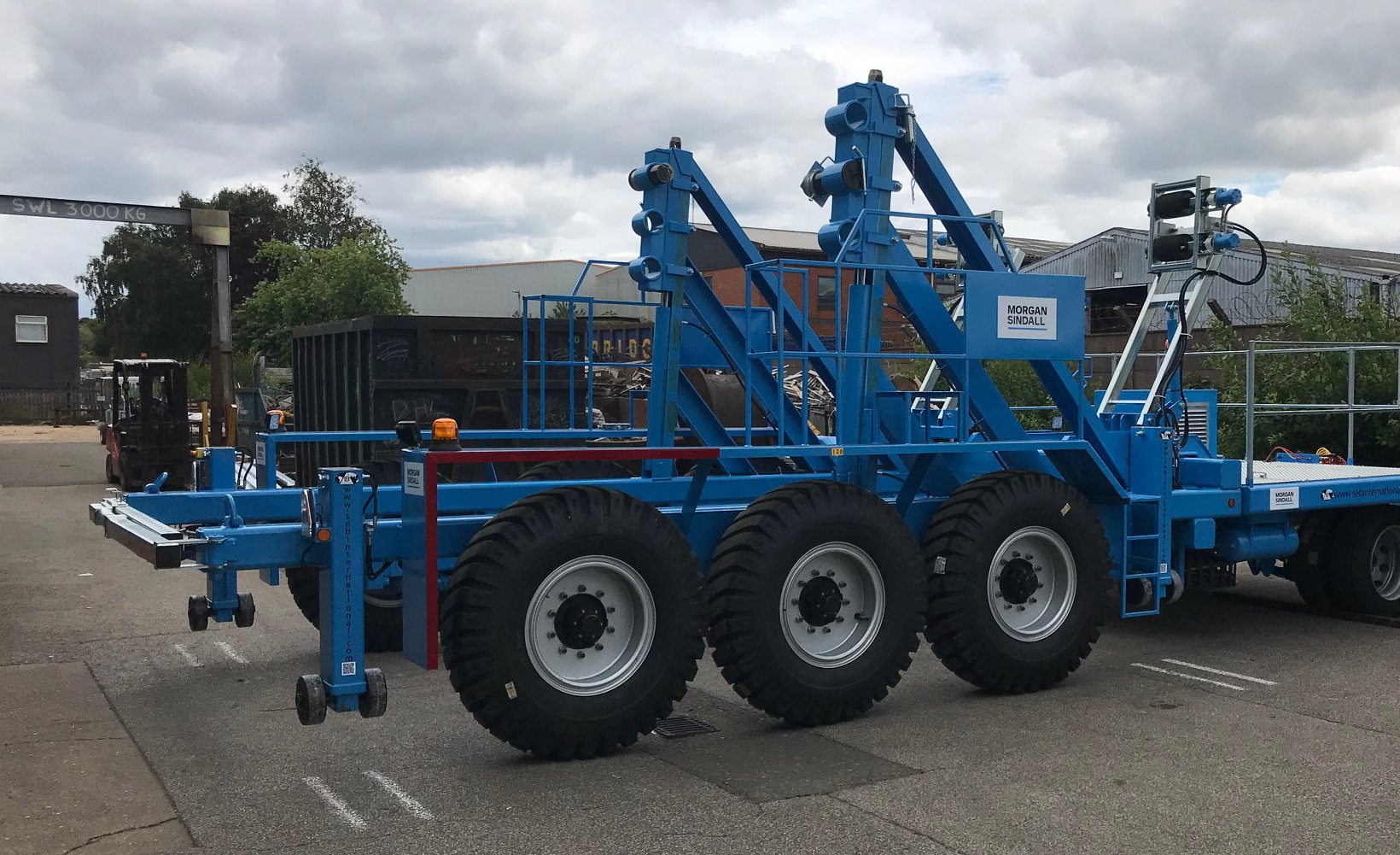 Specialist cable drum design being used on our Dorset VIP project for National Grid