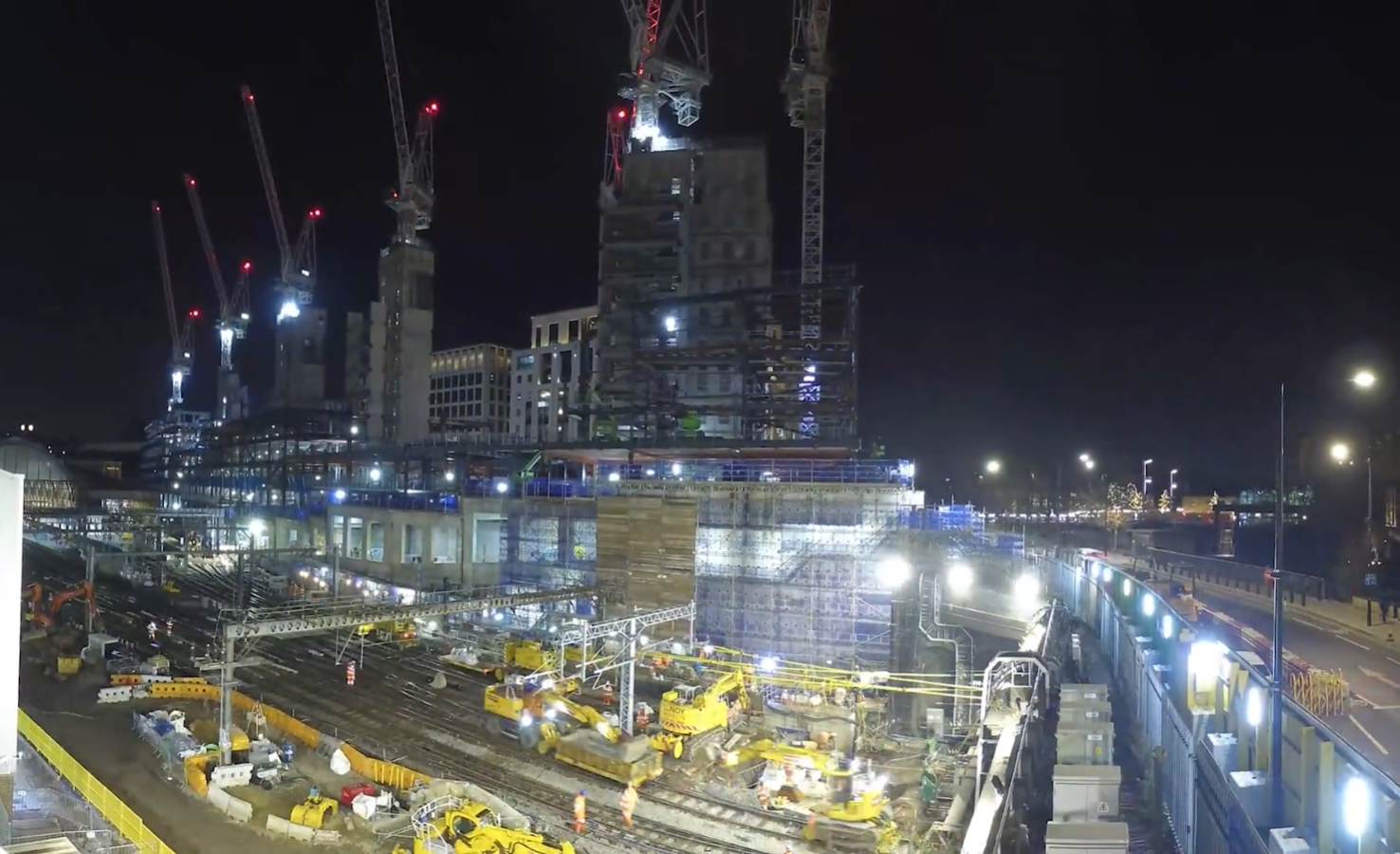 King's Cross Station sewer works