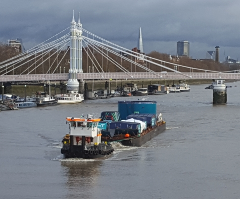 Morgan Sindall Thames Tideway Tunnel Joint Venture welcome the first of its two tunnel boring machines