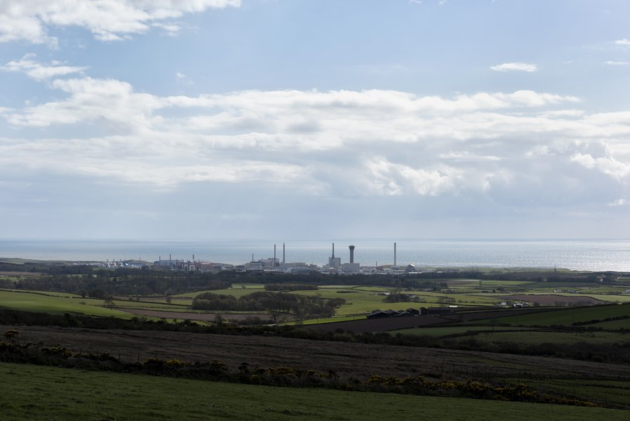 A panoramic view of the Sellafield site