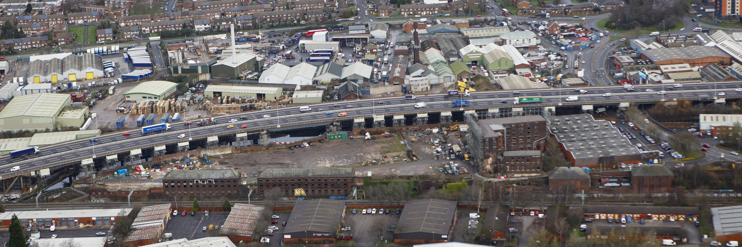 M5 Oldbury Viaduct - completed project